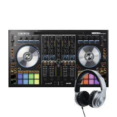 Reloop Mixon 4 + słuchawki RHP-30 Silver GRATIS!