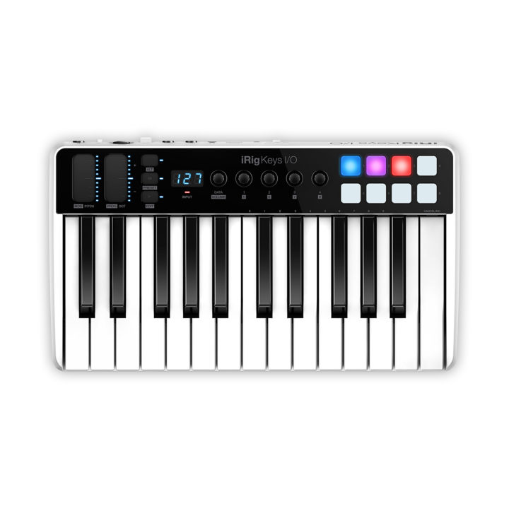 IK Multimedia iRig Keys I/O 25 1