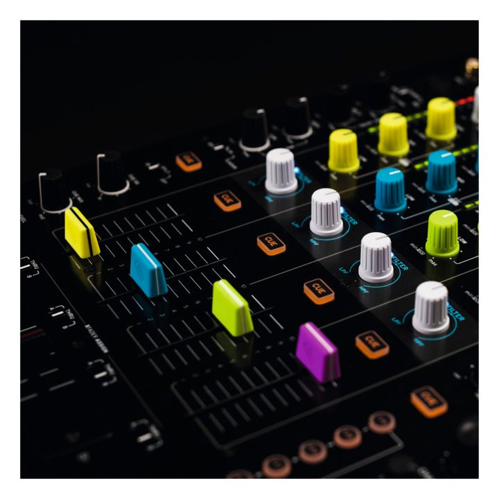 Reloop Fader Cap Set Green 6