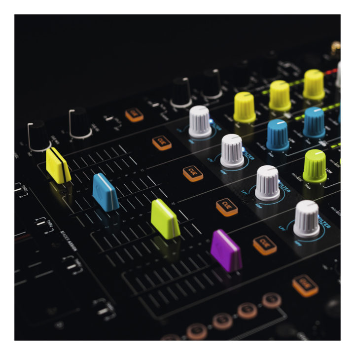 Reloop Fader Cap Set Purple 6