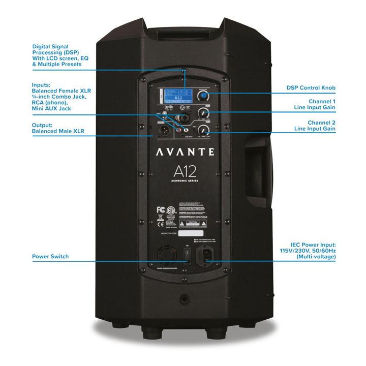 Avante Audio Achromic A12 3