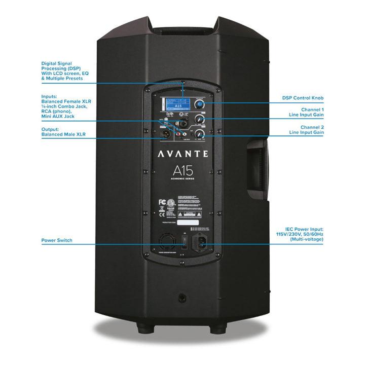 Avante Audio Achromic A15 3