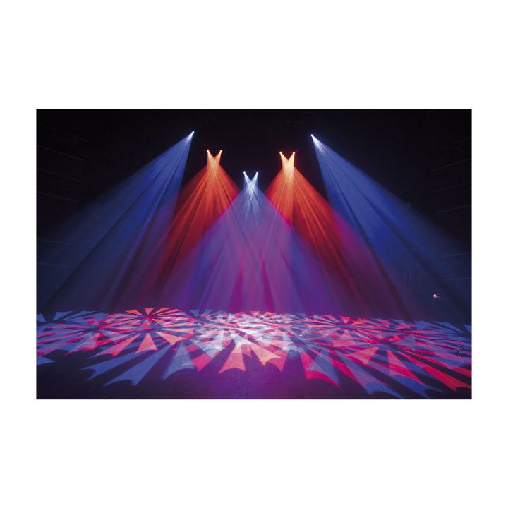 Showtec Phantom 65 LED Spot x2 + okablowanie i uchwyty 12