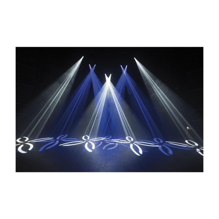 Showtec Phantom 65 LED Spot x2 + okablowanie i uchwyty 14