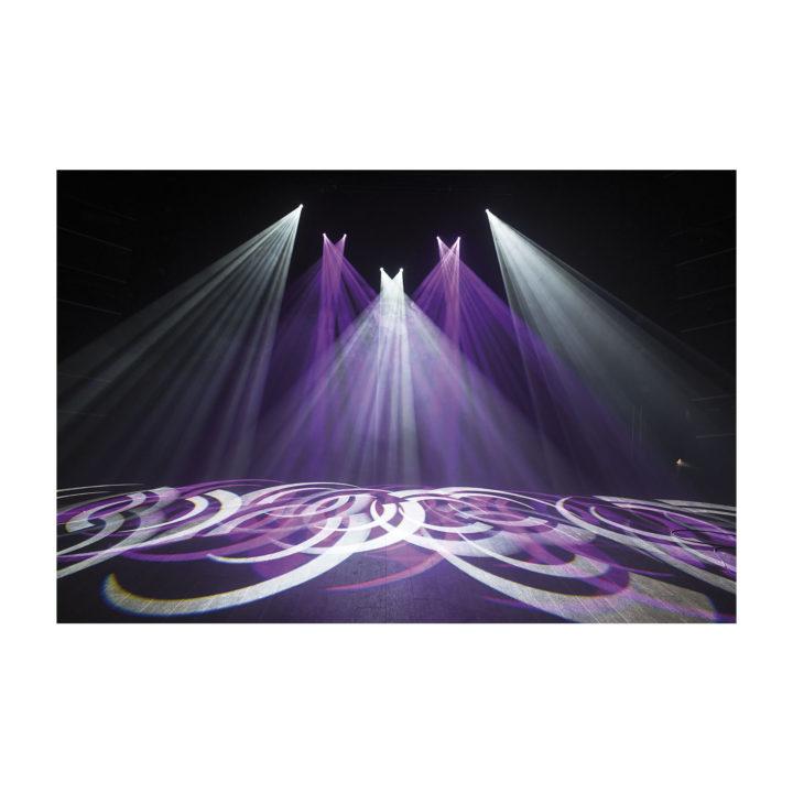Showtec Phantom 65 LED Spot x2 + okablowanie i uchwyty 16