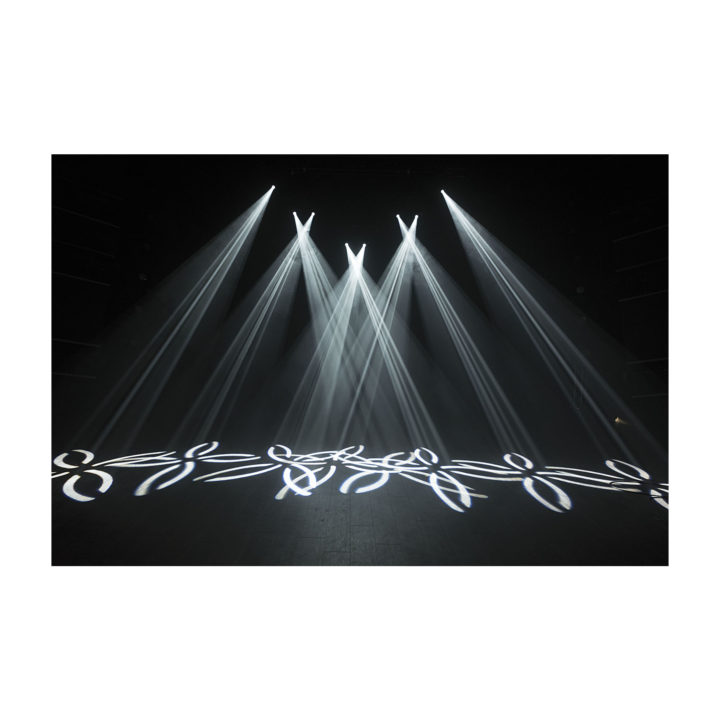 Showtec Phantom 65 LED Spot x2 + okablowanie i uchwyty 22