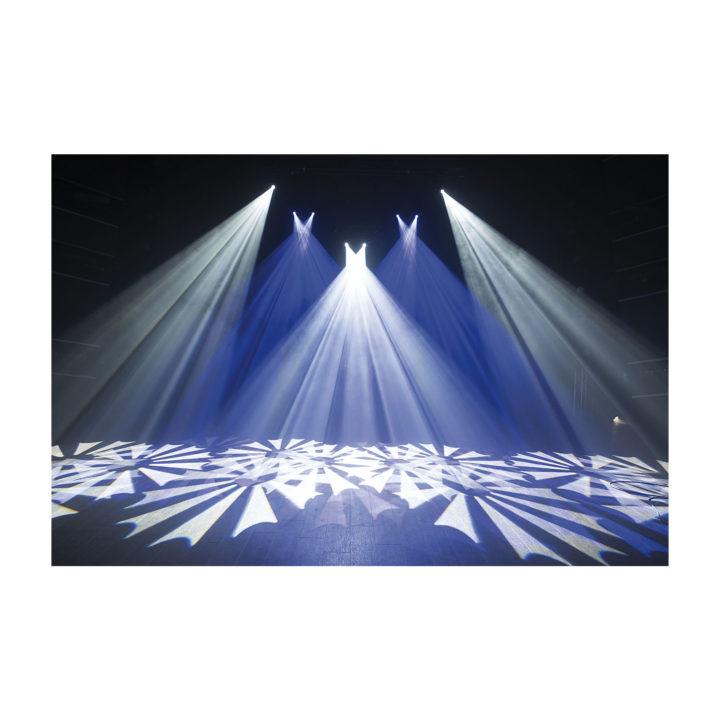 Showtec Phantom 65 LED Spot x2 + okablowanie i uchwyty 23