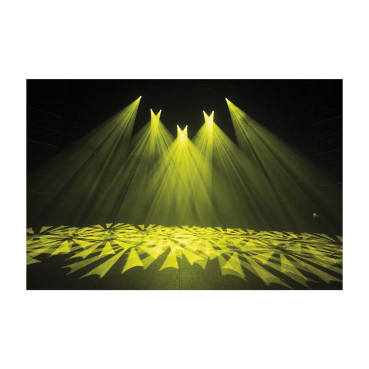 Showtec Phantom 65 LED Spot x2 + okablowanie i uchwyty 24