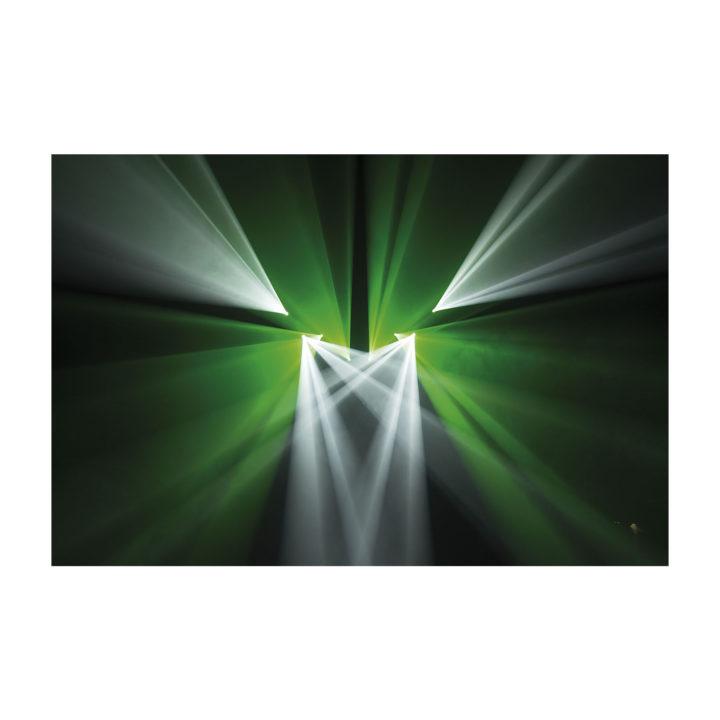Showtec Phantom 65 LED Spot x2 + okablowanie i uchwyty 25