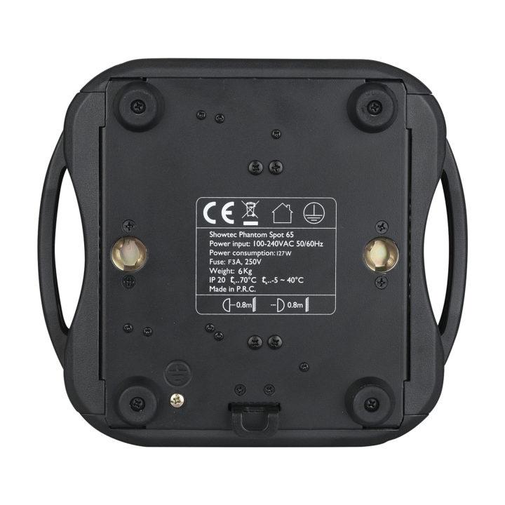 Showtec Phantom 65 LED Spot x2 + okablowanie i uchwyty 7