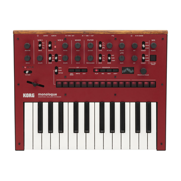 Korg Monologue Red 1