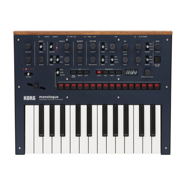 Korg Monologue Dark Blue 1