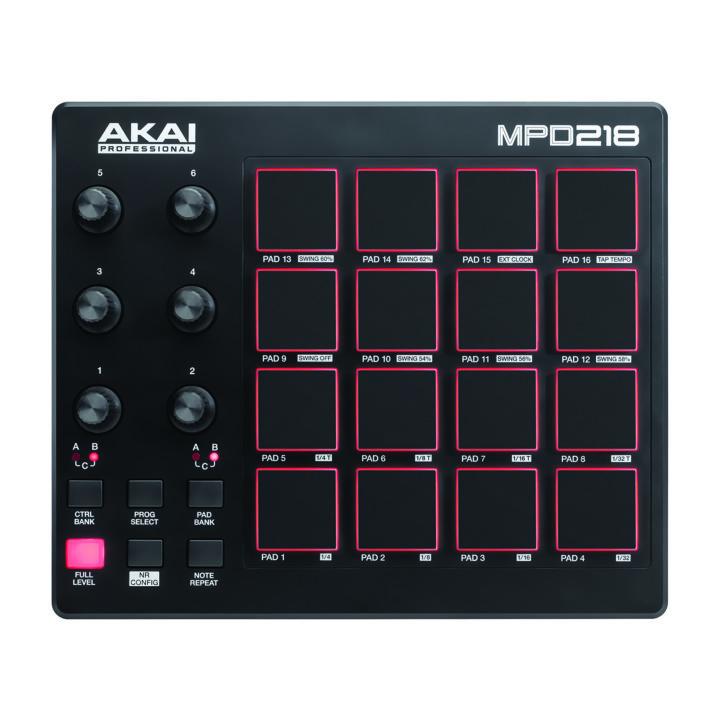 Akai MPD218 2