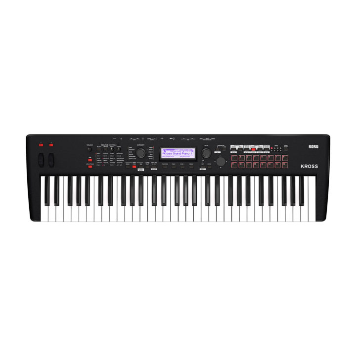 Korg Kross 2 61 (Super Matte Black) 1