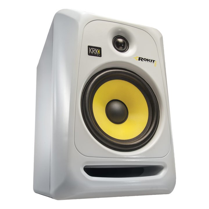 KRK RP6 G3 WH para + statywy 3