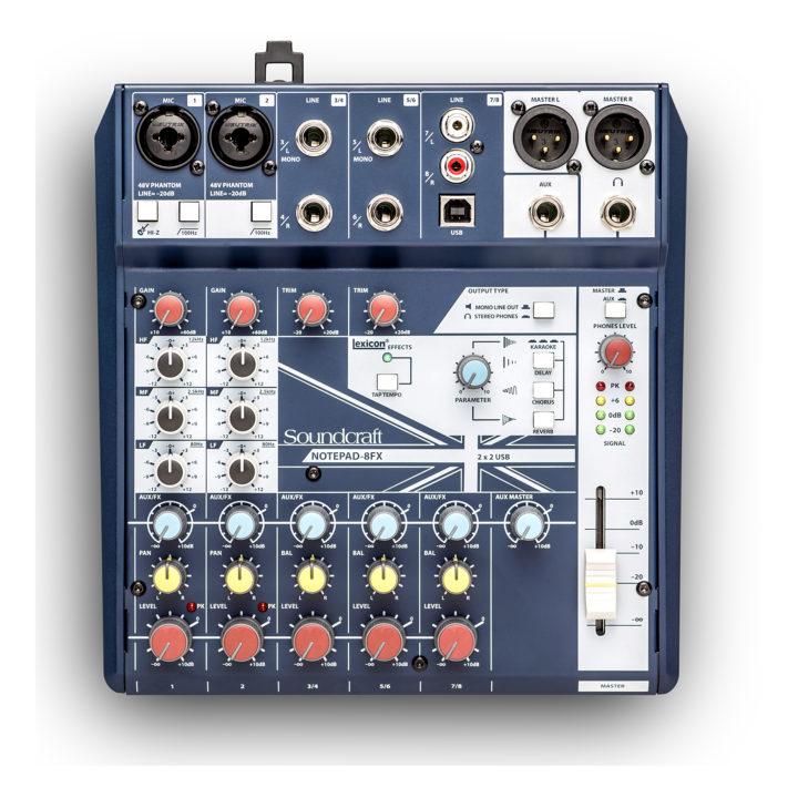 Soundcraft Notepad 8FX 1