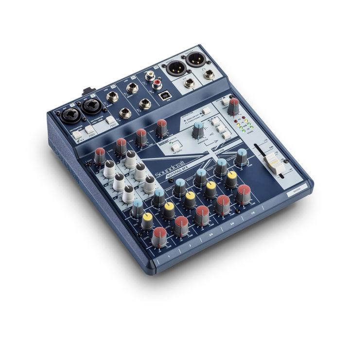 Soundcraft Notepad 8FX 2