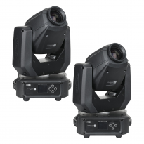 Showtec Phantom 65 LED Spot x2 + okablowanie i uchwyty 1