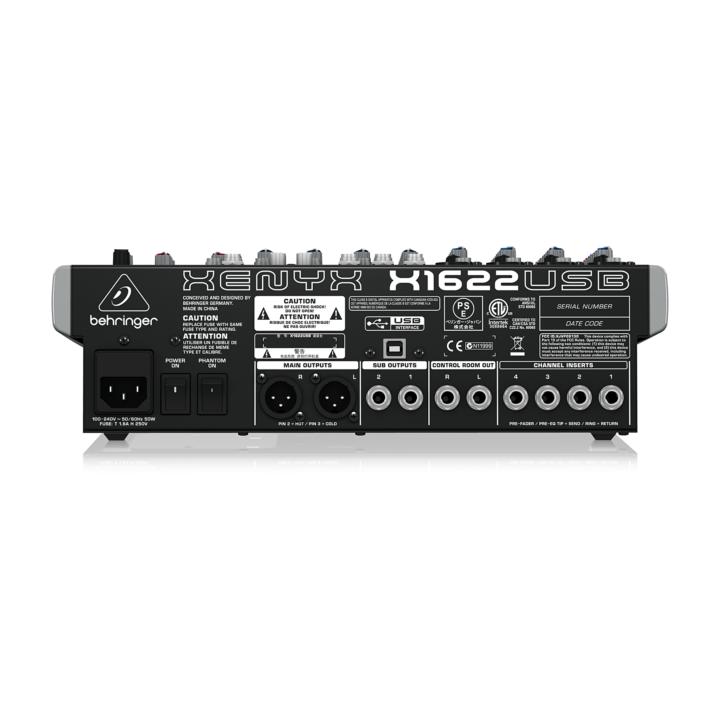Behringer XENYX X1622 USB 3