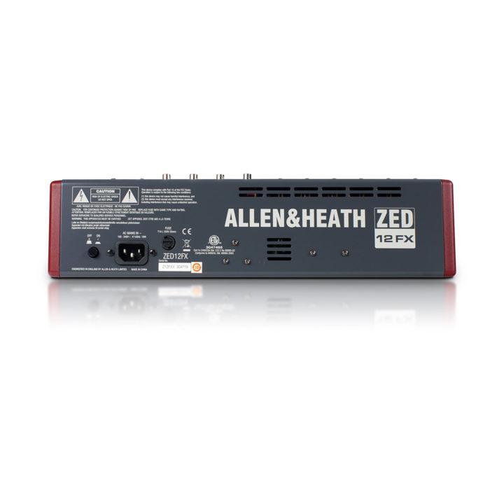 Allen & Heath ZED 12FX 2