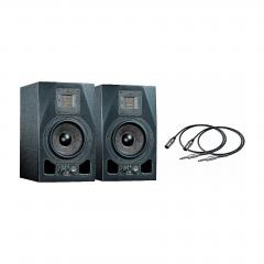 2x Adam Audio A5X + okablowanie