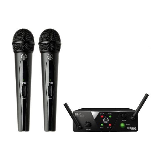 AKG WMS 40 MINI2 Dual Vocal Set