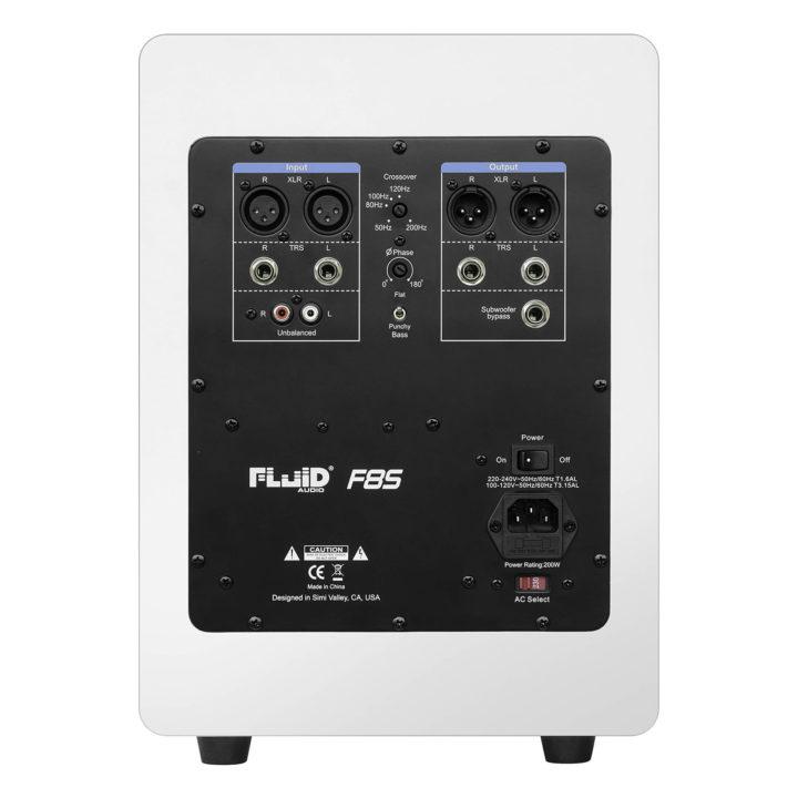 Fluid Audio F8S WH 3