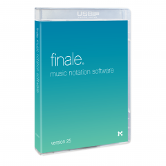 MakeMusic Finale 25 Retail BOX