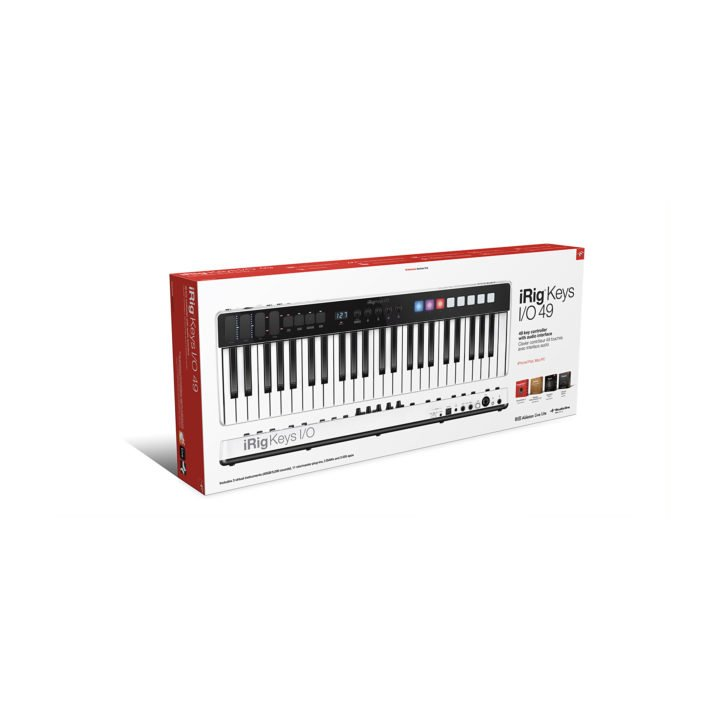 IK Multimedia iRig Keys I/O 49 7