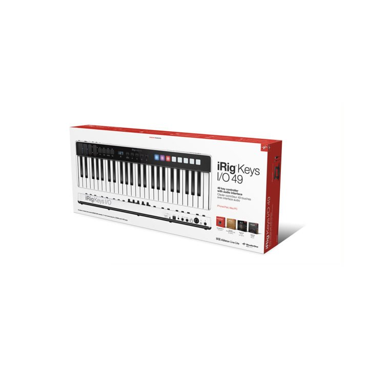 IK Multimedia iRig Keys I/O 49 8