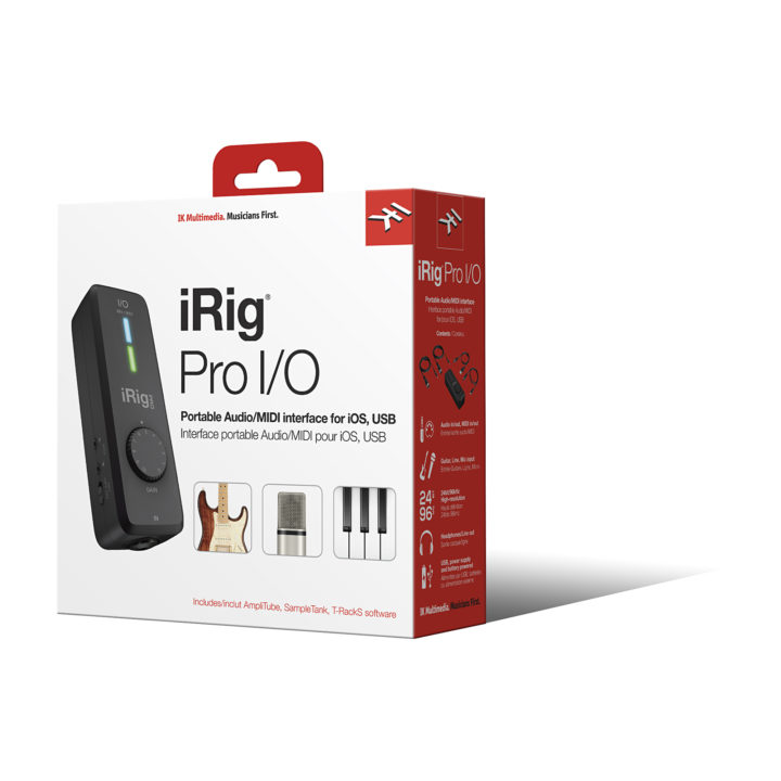 IK Multimedia iRig Pro I/O 27