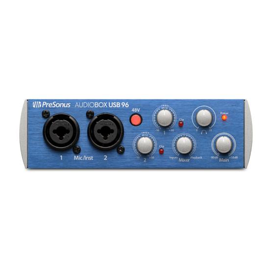 PreSonus AudioBox USB 96 + słuchawki PreSonus HD7