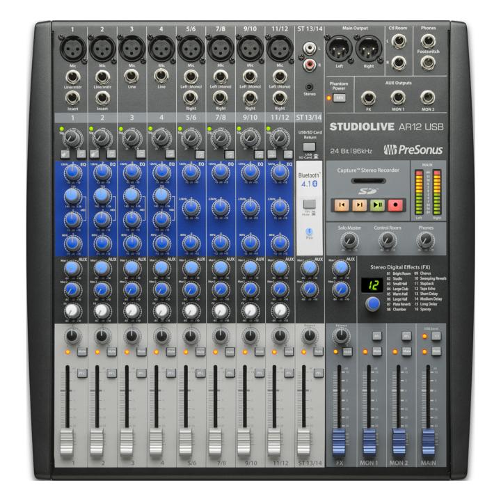 PreSonus StudioLive AR12 USB 1
