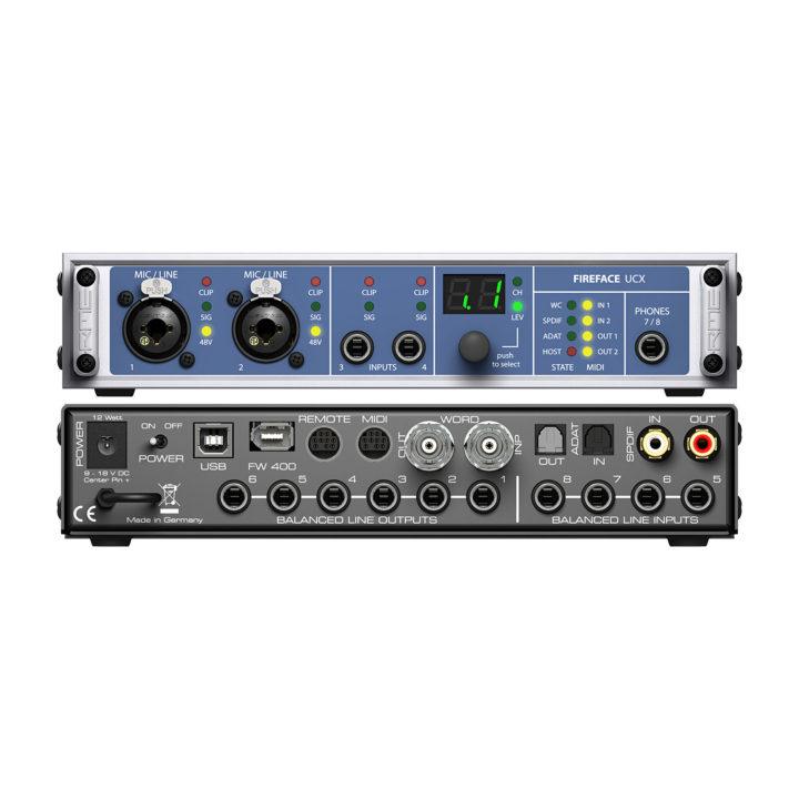 RME Fireface UCX 1