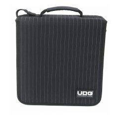 UDG CD Wallet 128 Black/Grey Stripe