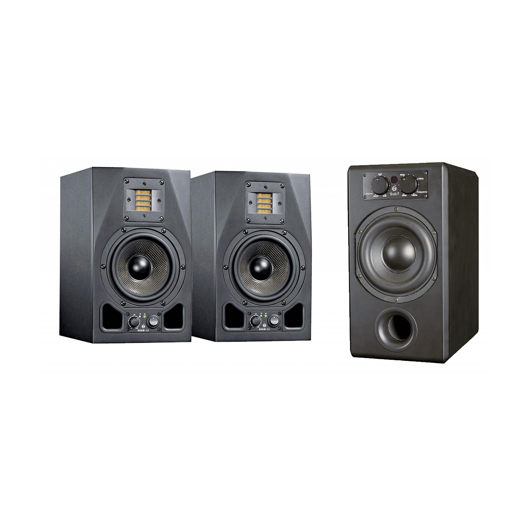 Adam Audio - zestaw 2x A5X + Sub7 - 15% TANIEJ