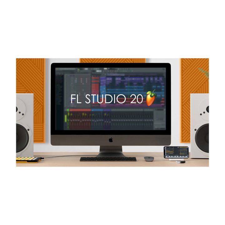 FLStudio20_iMacDesk