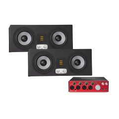 Eve Audio SC307 (para) + Focusrite Clarett 4Pre USB