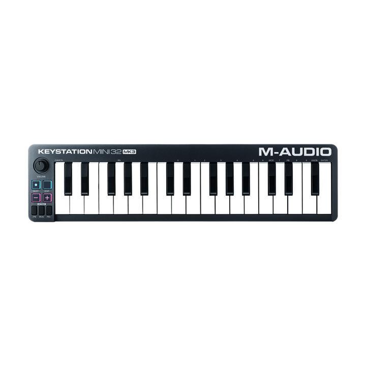M-audio keystation mini 32 mk3 top