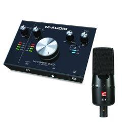 M-Audio M-Track 2X2 + sE X1 A