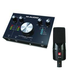 M-Audio M-Track 2X2M + sE X1 A